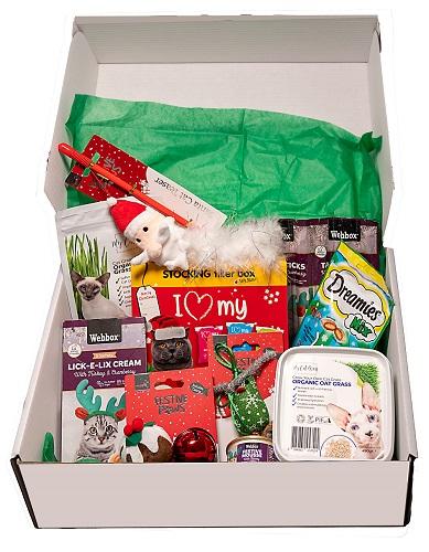 My Cat Grass Santa Paws Gift Box
