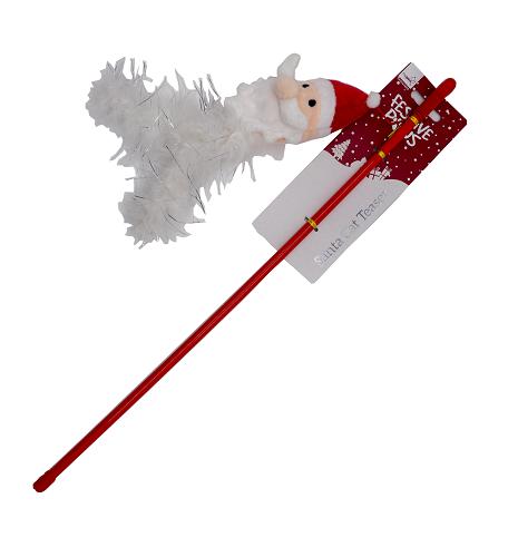 Festive Cat Teaser - Santa or Reindeer