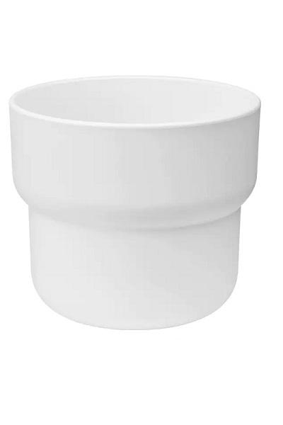 Cat Grass Pot - Modern White